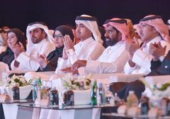 His Excellency Sheikh Thani bin Hamad bin Khalifa Al-Thani Graces the Graduation Ceremony of First Generation of the